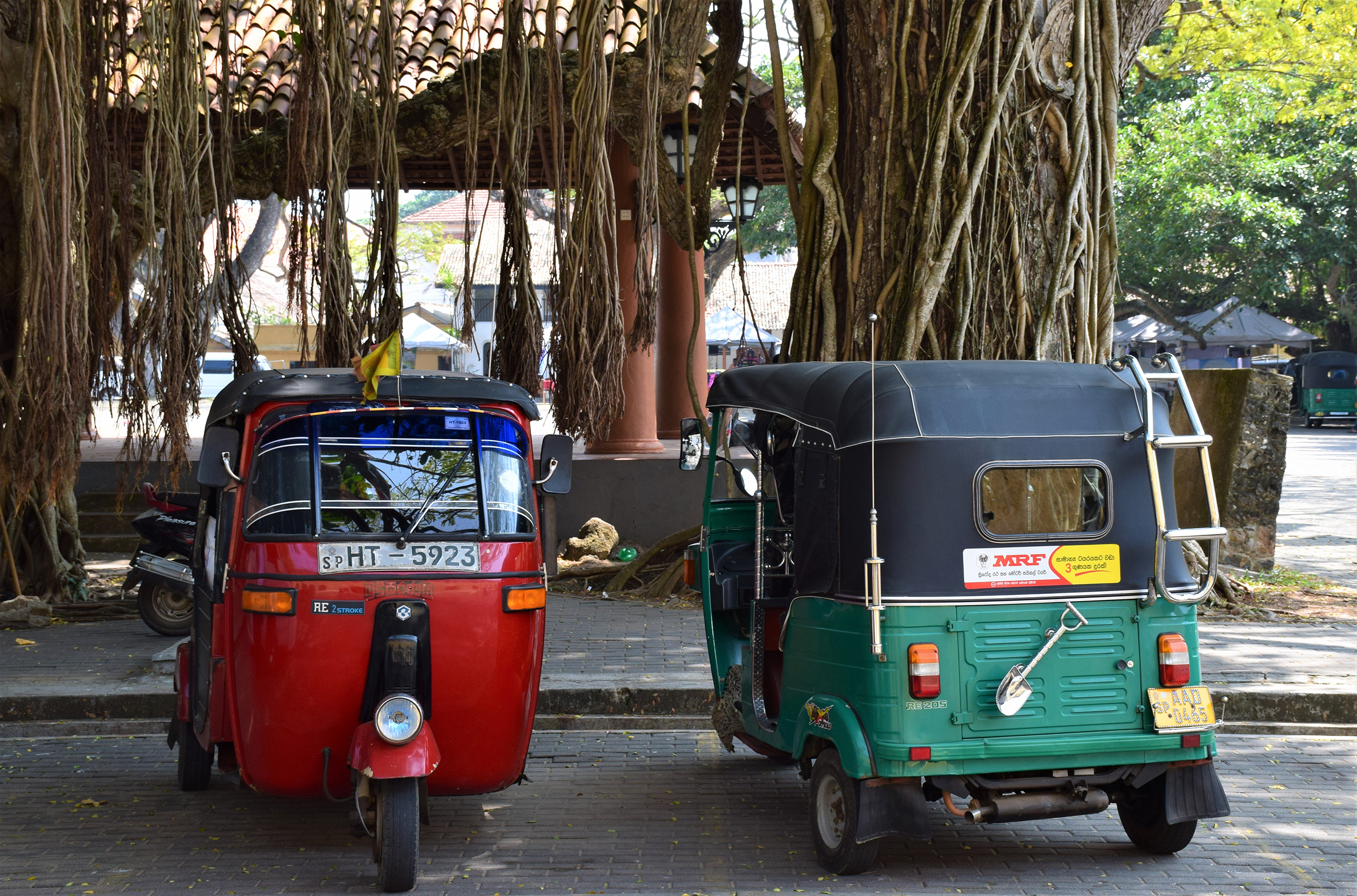 Tuk-tuk's are everywhere and will drop you off anywhere.