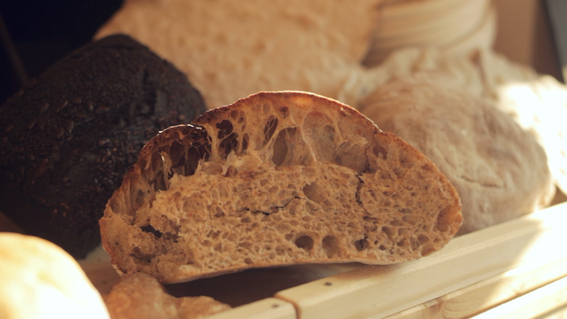 A perfect fermentation creates the perfect crumb.