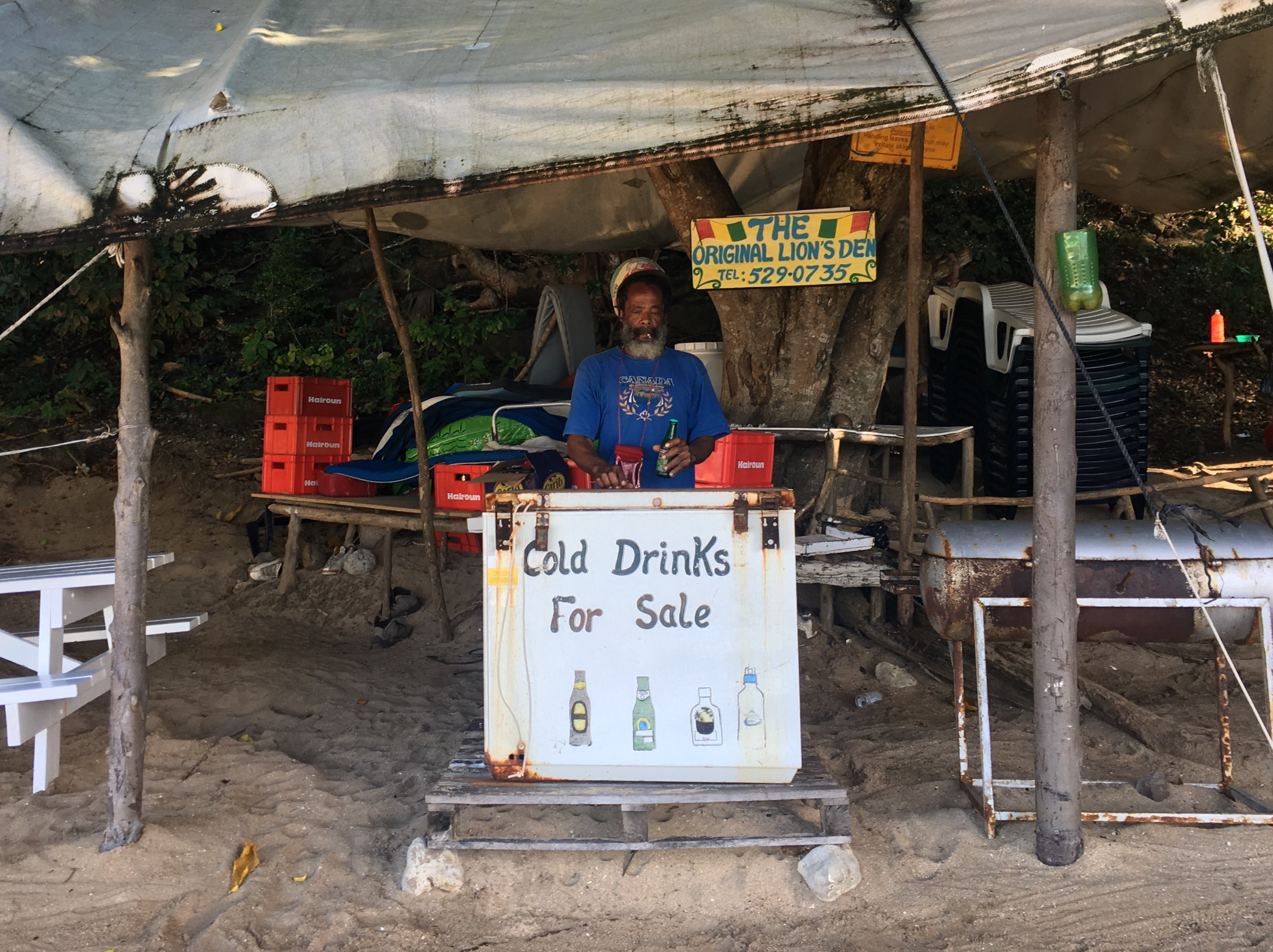 Coolest bar of the Caribbean.