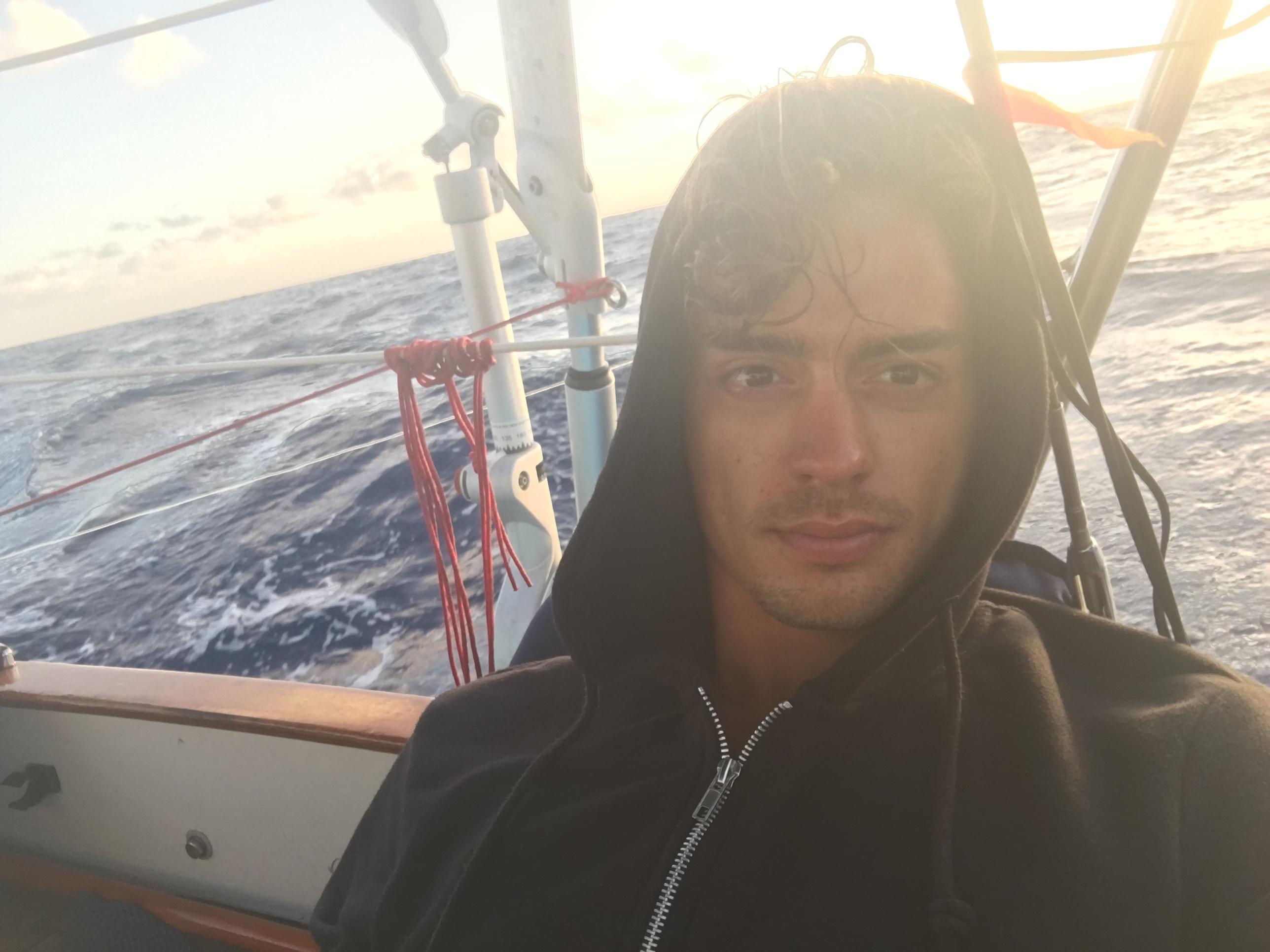 Mid-Atlantic Ocean selfie!